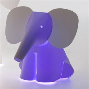 Zoolight Mini Elefant Barne Bordlampe