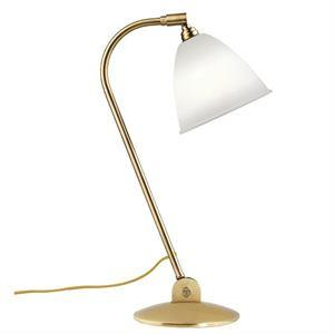 Bestlite BL2 Bordlampe Messing & Porselen